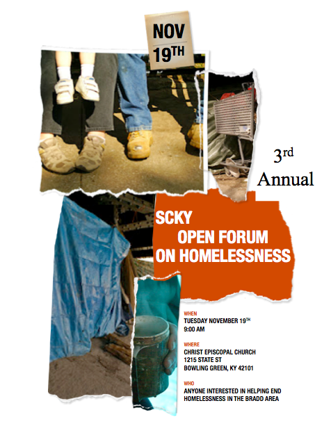 3rd Annual Open Forum on Homelessness